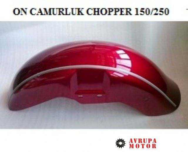 On Camurluk Chop.QM 250 (Bordo)